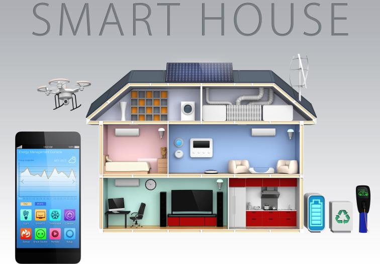 Smart Home Licht An Heizung An Digitalisierung An Sopra